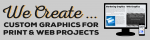 custom graphics for print and web projects
