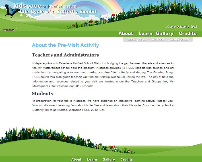 Kidspace eLearning ActionScript Project