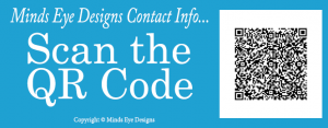 QR Code Minds Eye Designs